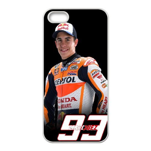 Marc Marquez Phone Case And One Free Tempered-Glass Screen Protector For iPhone 5,5S T238155