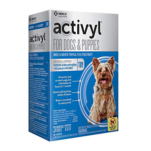ACTIVYL Toy Dogs & Puppies 4-14lbs, 3-pack