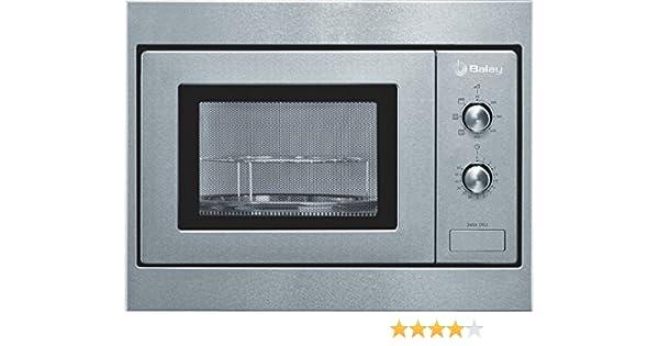 Balay 3WGX-1953, 1270 W, 230 V, 50 Hz, Acero inoxidable, 453 x 320 x 280 mm, 14000 g, 290 x 274 x 194 mm - Microondas: Amazon.es: Hogar