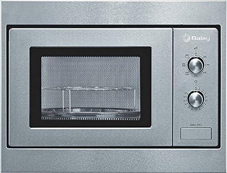 Balay 3WGX-1953, 1270 W, 230 V, 50 Hz, Acero inoxidable, 453 x 320 x 280 mm, 14000 g, 290 x 274 x 194 mm - Microondas