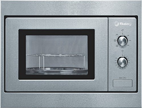Balay 3WGX-1953, 1270 W, 230 V, 50 Hz, Acero inoxidable, 453 x 320 x 280 mm, 14000 g, 290 x 274 x 194 mm - Microondas