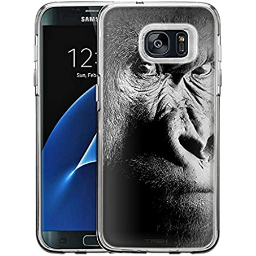 Samsung Galaxy S7 Edge Case, Snap On Cover by Trek Serious Gorilla One Piece Trans Case Sales