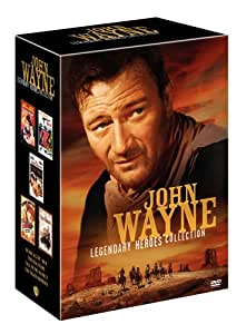 John Wayne Legendary Heroes Collection (Blood Alley / McQ / The Sea Chase / Tall in the Saddle / The Train Robbers) (Sous-titres français)