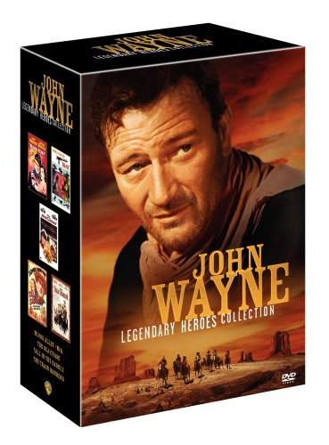John Wayne Legendary Heroes Collection (Blood Alley / McQ / The Sea Chase / Tall in the Saddle / The Train Robbers) by WEA
