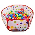 FocuSun Portable Cute Hexagon Polka Dot Kids Playpen Ball Pit Indoor and Outdoor Easy Folding Play House Children Toy Play Tent with Tot by EocuSun that we recomend individually.