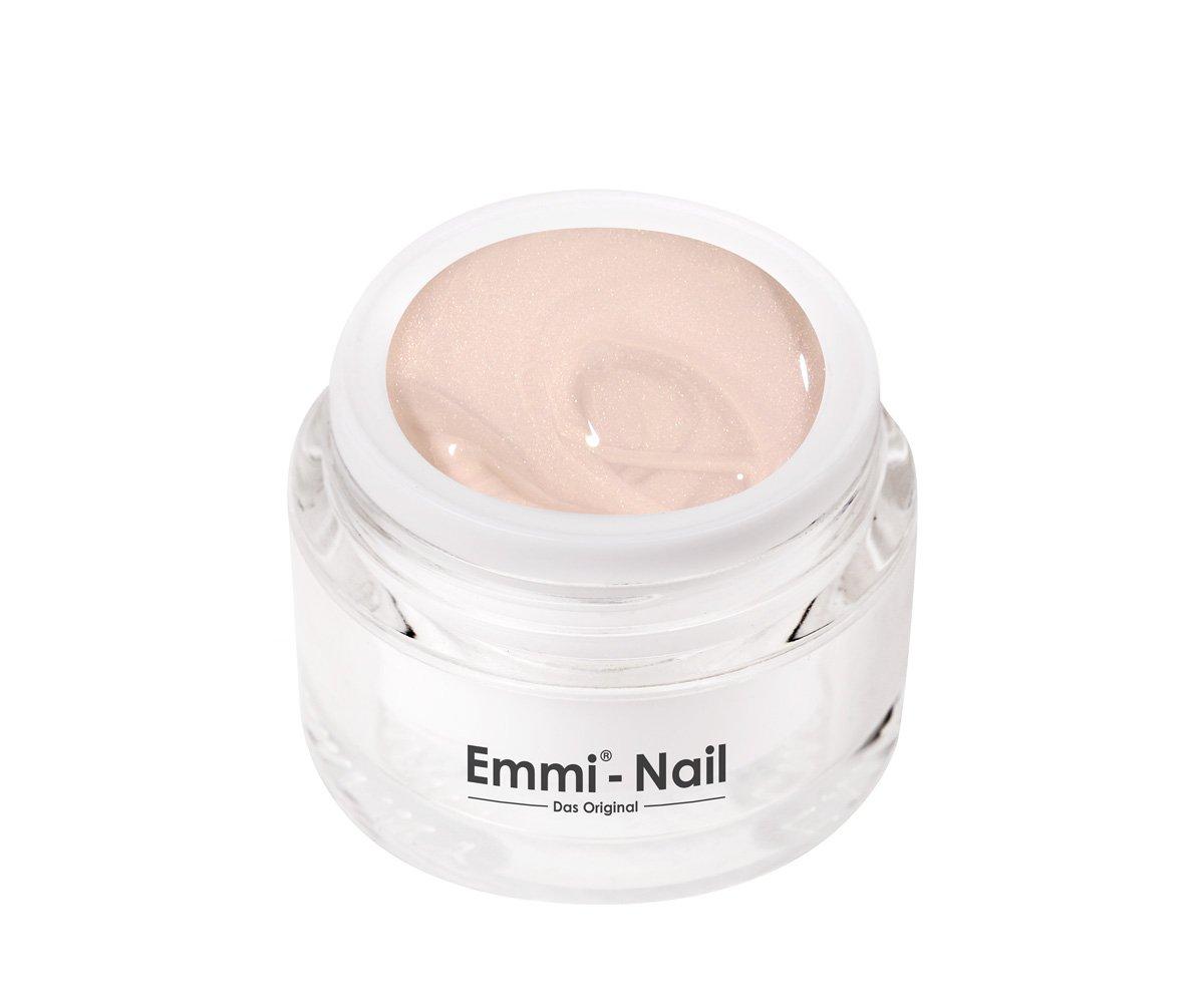 Emmi-Nail Farbgel Burgund Pearl: UV-Gel für glänzendes Finish, hohe Deckkraft, helles Weinrot, mittelviskos, kein Verlaufen in die Nagelränder, 5 ml 70201