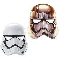 Star Wars Güç Uyanıyor Lisanslı Kağıt Maske 6'lı