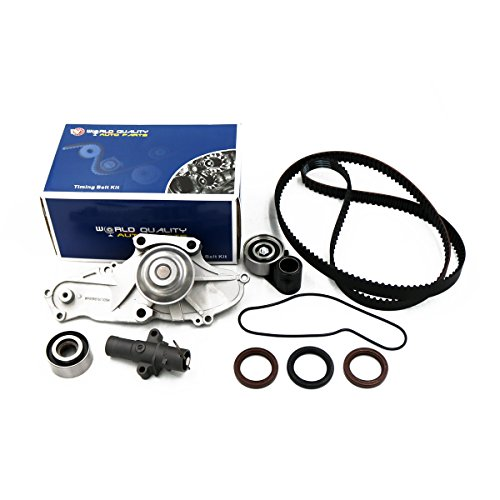 Timing Belt Kit Water Pump for 2003-2013 Acura MDX TL RL ZDX TSX RDX Honda Accord/Odyssey/Pilot/Ridgeline Saturn Vue 3.0L 3.5L 3.7L SOHC V6