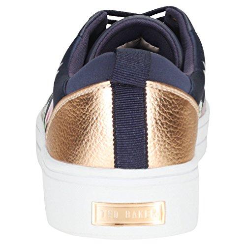 Femme Baskets Navy Alyzzi Mode Ted Baker FqE80w8xU