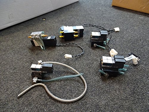 Lot of 3 Parker Kuroda PCS245 Solenoid Valve & 5 Kuroda PCS241 from Kuroda