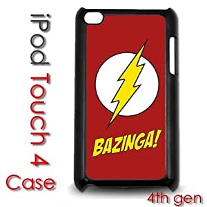 IPod Touch 4 4th gen Touch Plastic Case - Bazinga Big Bang Theory Shelton