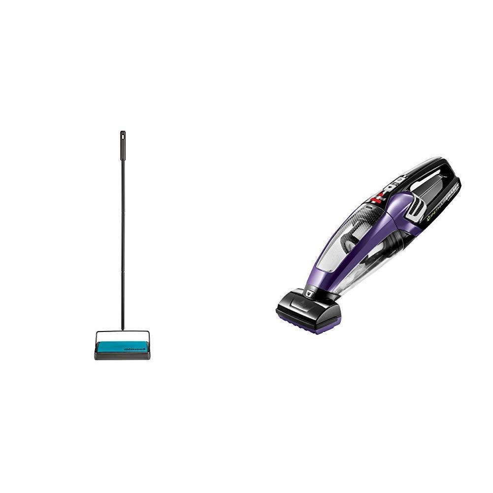Sweeper and Hand Vacuum Bundle