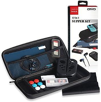 Super Kit Accesorios para Nintendo Switch ,incluye fundas de ...