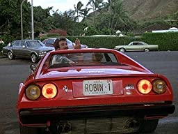 Amazon.com: Magnum PI / Ferarri 308 GTS / Tom Selleck / ROBIN-1 *METAL