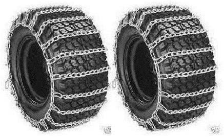 New 2 Link TIRE CHAINS /& TENSIONERS 26x12x12 for Sears Craftsman Mower Tractor