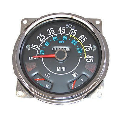 17206 05 Speedometer Assembly 5 85 Mph Includes Speedometer Assembled With Fuel And Temperature Gauges Jeep