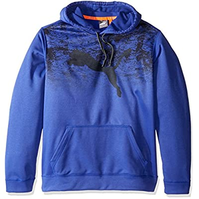 Wholesale PUMA Men's PWRWARM Essentials Fleece Hoodie free shipping