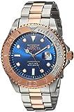 Invicta Men's 'Pro Diver' Quartz Stainless Steel Diving Watch, Color:Two Tone (Model: 24626)
