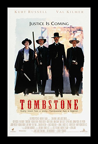 Tombstone - 11x17 Framed Movie Poster by Wallspace