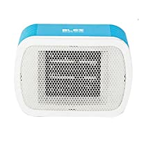 [Bles] Electric Mini Portable Heater MH Desktop Household Office Energy Saving Heaters Fan 220V (Blue & White)