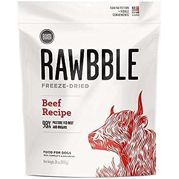 Bixbi Rawbble Dog Food Freeze Dried