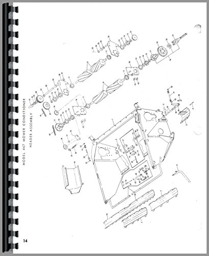 new holland 467 haybine parts manual new holland manuals rh amazon com used new holland 467 haybine parts new holland 467 haybine parts diagram