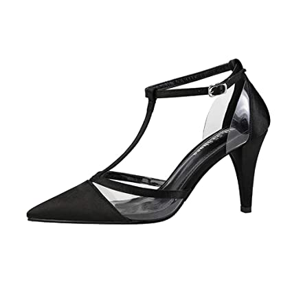 60da6171e9a6a Amazon.com: YXB Women's High Heels Fashion Pointed Stilettos Pumps ...