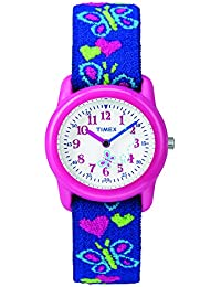 Analog Youth Watch - Kidz Analog | Pink Case with Butterfly Design