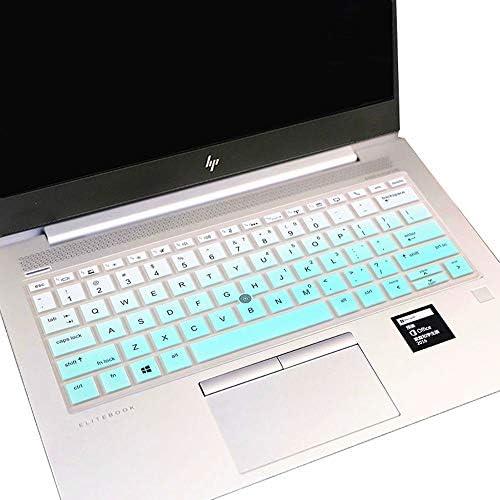 Keyboard Cover for 13.3 HP Elitebook 830 G5 G6 13.3 |EliteBook 735 G5 G6 13.3 13.3 |EliteBook x360 1030 G3 G4 13.3 (NOT FIT EliteBook 830 G7 G4 G3 G2 G1 1040 G3 G4 1030 G2 G1) -Mint Green