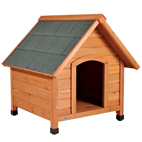 TRIXIE Pet Products Log Cabin Dog House, Small ()