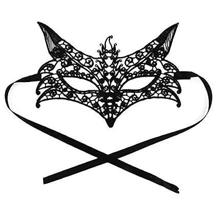DealMux Fox en forma de ojo de encaje partido de las mujeres ...