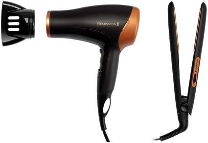 Remington D3012GP - Secador de pelo (2000 W, placa de cerámica): Amazon.es: Belleza