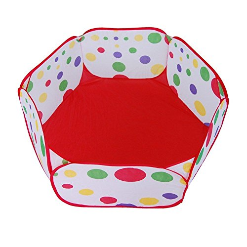 OLIVE US-Portable Kids Toy Ocean Ball Pit Pool Indoor Outdoor Baby Game Play Tent - Hut Coupons