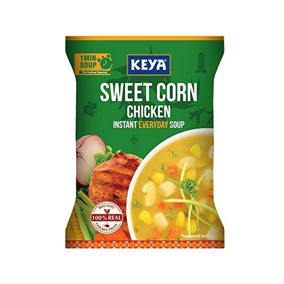 Keya Inst. Soup Sweet Corn Chicken, 52g (Four Serve)