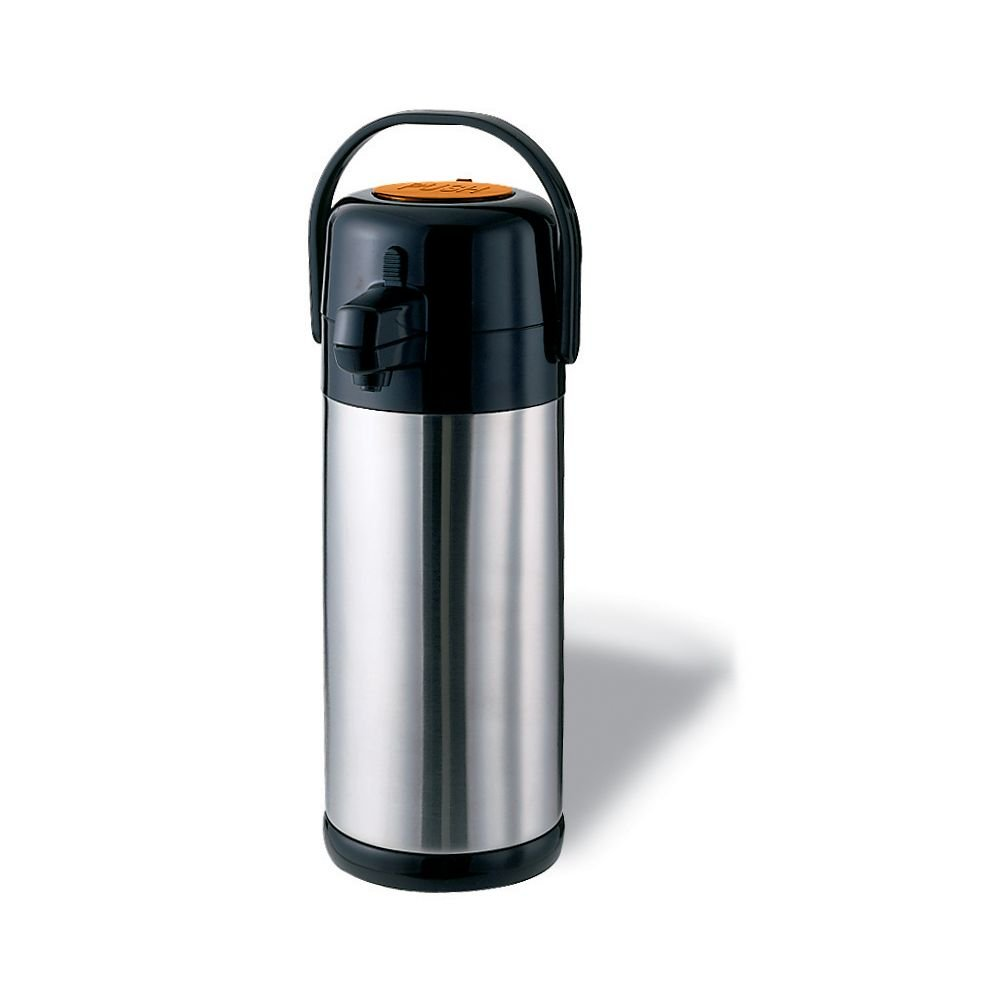 Service Ideas SECA22S Airpot with Pump, Stainless Steel Lined, 2.2 L