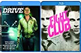 Fight Club & Drive [Blu-ray] 2 Pack Action Movie Set Brad Pitt David Fincher