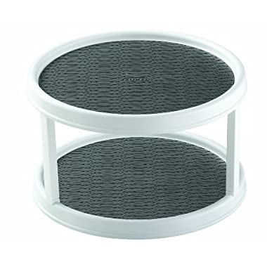 Copco 2555-0187 Non-Skid 2-Tier Cabinet Turntable, 12-Inch