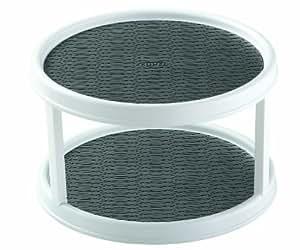Amazon.com - Copco 2555-0187 Non-Skid 2-Tier Cabinet ...