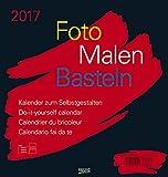 Foto-Malen-Basteln schwarz 2017: Kalender zum Selbstgestalten