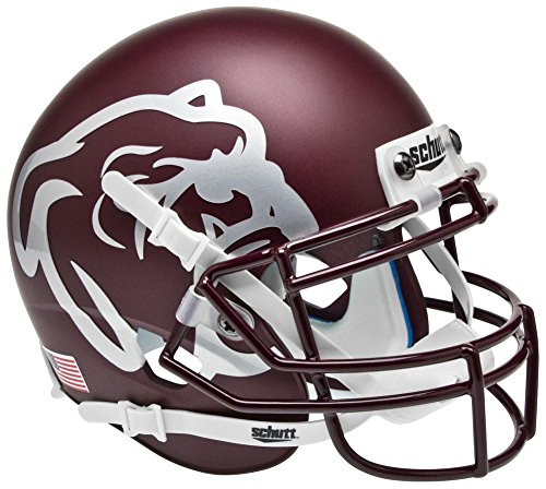 Mississippi State Bulldogs Mini XP Authentic Helmet Schutt - NCAA College Football Licensed - Mississippi State Bulldogs Collectibles (Mississippi Helmet State)
