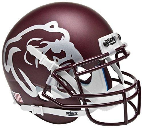 Mississippi State Bulldogs Mini XP Authentic Helmet Schutt - NCAA College Football Licensed - Mississippi State Bulldogs Collectibles (Mississippi State Helmet)