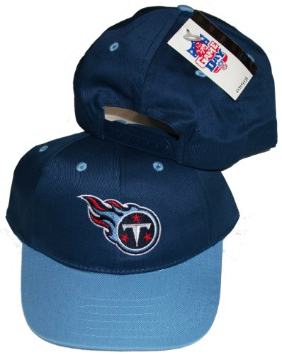 Tennessee Titans Navy/Light Blue Two Tone Snapback Adjustable Plastic Snap Back Hat/Cap