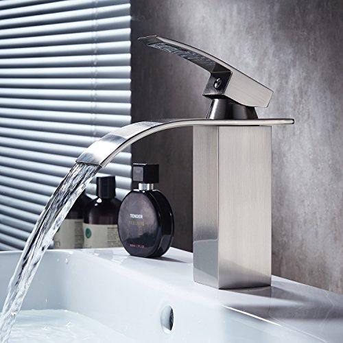 vessel faucet brushed nickle - 7