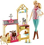Barbie Farm Veternarian Doll & Playset