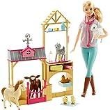 Barbie Careers Farm Vet Doll & Playset