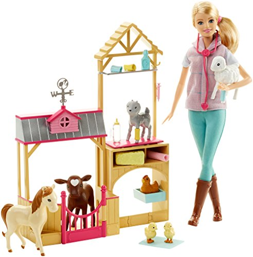 Barbie Careers Farm Vet Doll