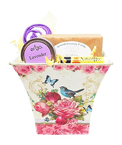 Gift For Mom - Mother's Day Lavender Aromatherapy Gift Set