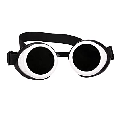 3761fb5fe3ee Amazon.com   FOCUSSEXY Steampunk Goggles Outdoor Vintage Lens Rave Retro  Style Crystal Glasses for Halloween Cosplay Festivals   Sports   Outdoors