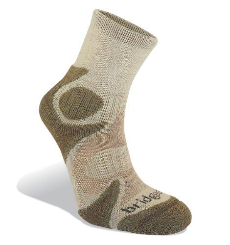 Bridgedale Men's CoolFusion Trailhead Socks, Chino/Sand,