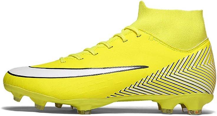 LYLZR Chaussures de Football pour Adultes Chaussures de